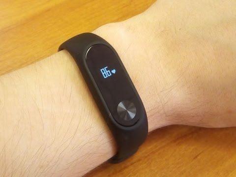 Review Xiaomi Mi Band 2 Heart Rate Monitor Smart Wristband — YouTube