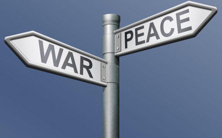 По законам военного времени