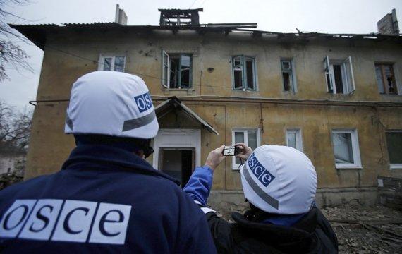 За что украинские военные ОБСЕ обругали