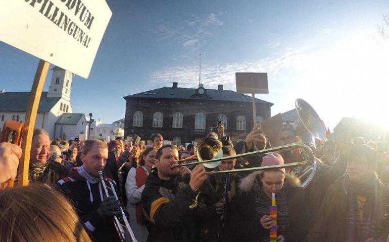 Исландский Майдан