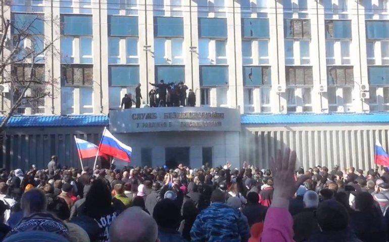 Захват СБУ в Луганске. Новые версии начала войны в Украине