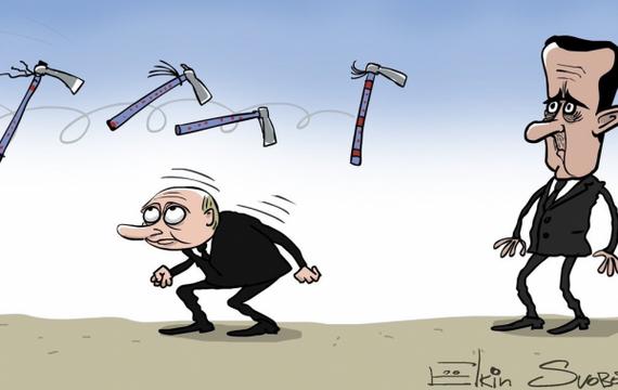 Володя, не дури, поговори с Асадом, а хотя черт с ним, лови «Томагавк»