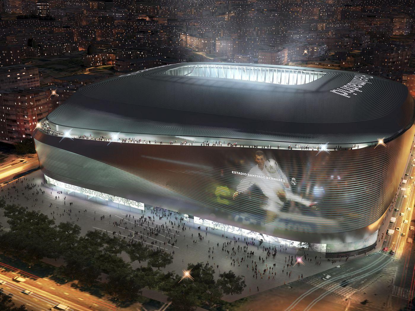 Real Madrid Release Video Of Santiago Bernabeu Stadium Renovations —  Managing Madrid