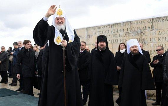Патриарх РПЦ Кирилл выступил фронтменом информационной операции РФ в Болгарии