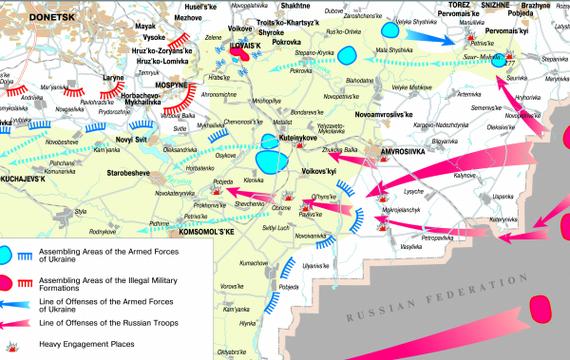 История АТО (12/04/14-30/04/18) — ТОП-10 войсковых операций