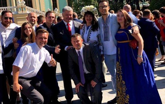 Як пройшов святковий прийом Президента України
