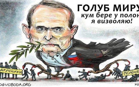 Обзор интервью Медведчука — кума Путина