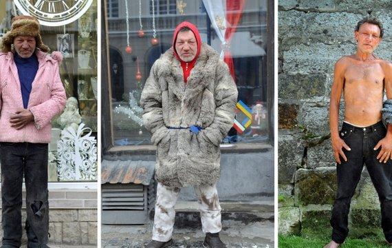 Славик — самый модный бомж Украины