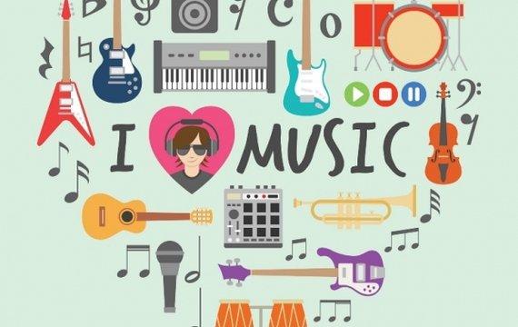 Музичне надбання сучасності у 5 настроях