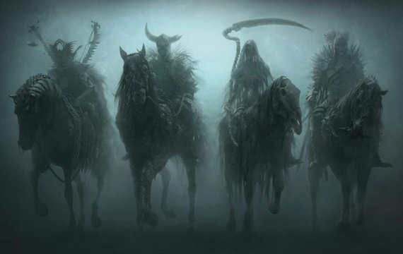Три вершники апокаліпсису