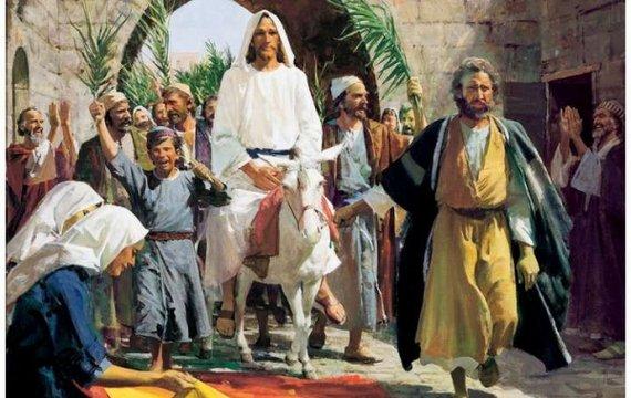 Вербна неділя, Зеленський і постулат