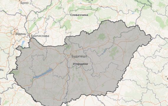 Угорщина Орбана і захист українських інтересів або Історія однієї карти