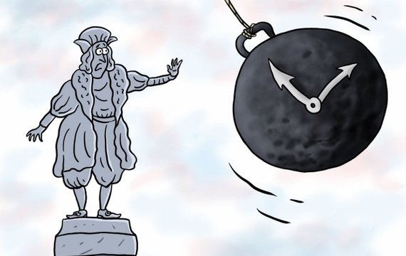 ЛЕНІНОПАД І КОЛУМБОПАД. Які пам'ятники варто, а які не можна скидати