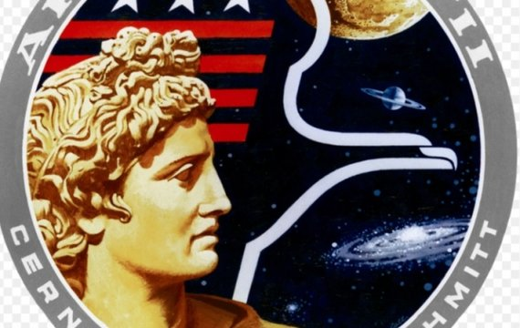 Символічне відображення оптимізму «Золотої ери» астронавтики