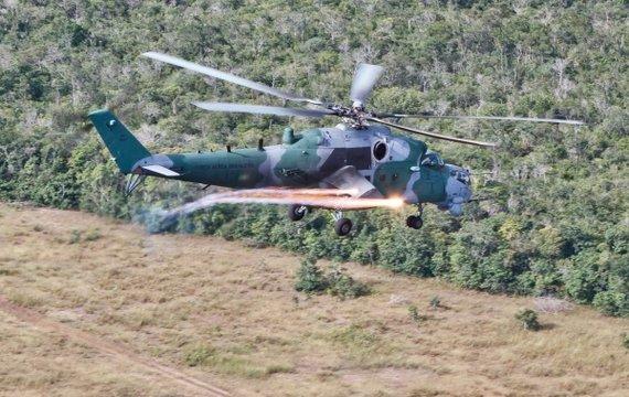 Российские Ми-35М обезоружили Бразилию своей аварийностью