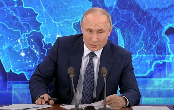 Ежегодная пресс-конференция Путина: ложь и амбиции в коронавирусной неге