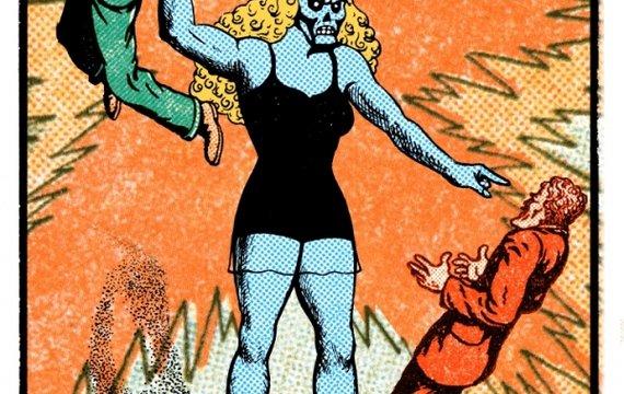 Фантома, предшественница Дианы из Темискиры