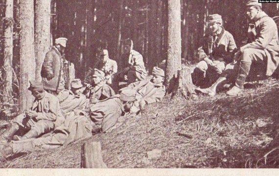 Українська Перша світова: становлення УСС та бої за гору Маківка