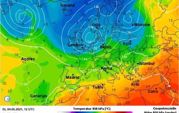 Заморозки найближчої ночі прийдуть в Україну!
