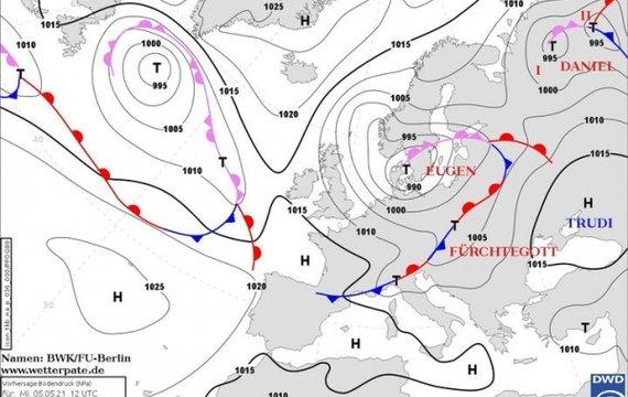 Яка погода буде 6 травня. Погода від Наталки Діденко.