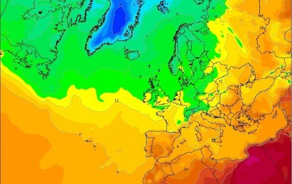 Прогноз погоди на 7 травня в Україні та Європі