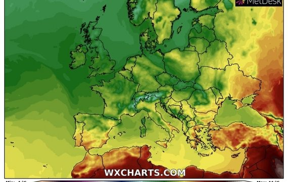 Потепління вже йде до України