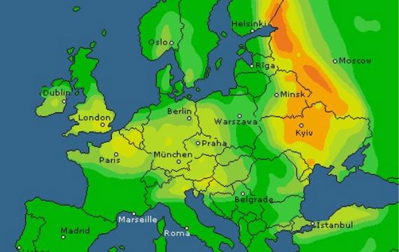 Завтра в Україні — знову циклон