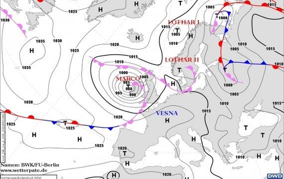 Прогноз погоди на п'ятницю, 21 травня
