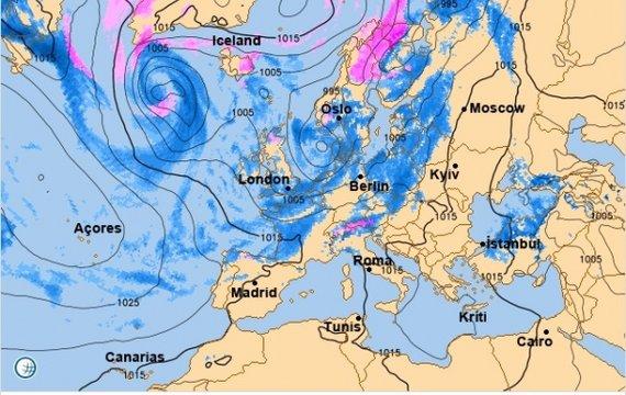 Прогноз погоди на вихідні