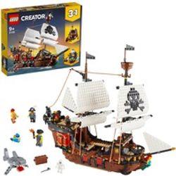 Comprar en oferta LEGO Creator - Barco pirata (31109)