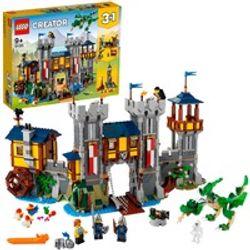 Comprar en oferta LEGO Creator: Castillo Medieval (31120)