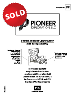 SOUTH LOUISIANA SALE PACKAGE