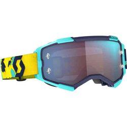 Scott Fury Blue/Orange/Blue Chrome - Gafas motocross