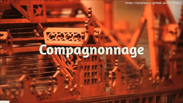 Compagnonnage, CSS et Vexillologie