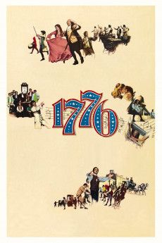 1776 1972 Poster