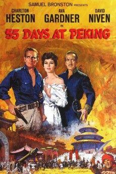 55 Days at Peking 1963 Poster