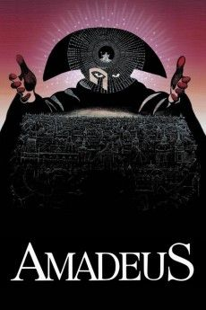 Amadeus 1984 Poster
