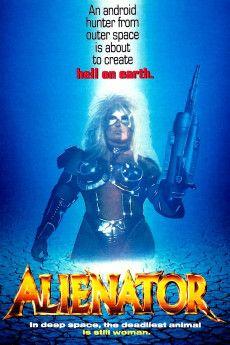 Alienator 1990 Poster