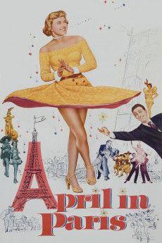April in Paris 1952 Poster