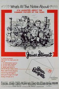 Dear Brigitte 1965 Poster
