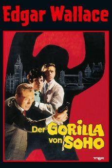 Der Gorilla von Soho 1968 Poster