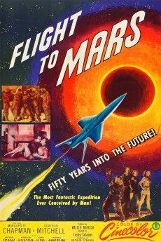 Flight to Mars 1951 Poster