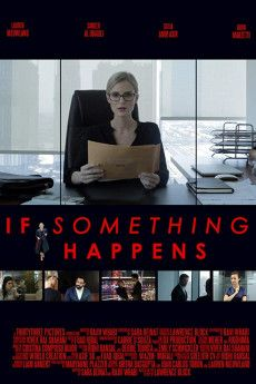 If Something Happens 2018 Poster