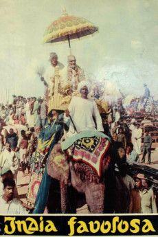 India favolosa 1954 Poster