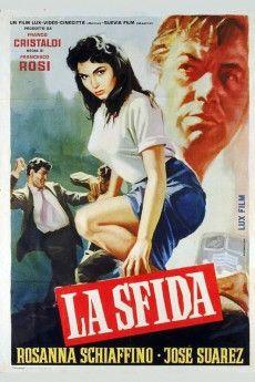 La sfida 1958 Poster