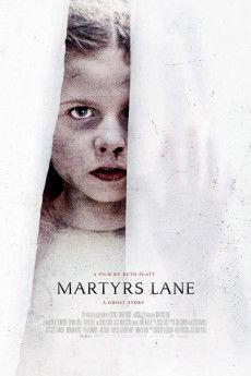 Martyrs Lane 2021 Poster