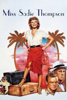 Miss Sadie Thompson 1953 Poster