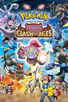 Pokémon the Movie: Hoopa and the Clash of Ages 2015 Poster