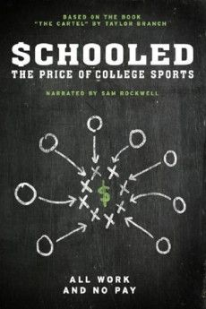 Schooled: The Price of College Sports 2013 Poster