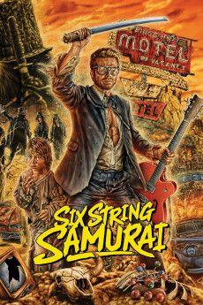 Six-String Samurai 1998 Poster